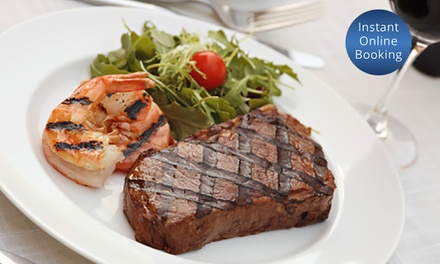 $29 for $50 or $55 for $100 to Spend on Australian Food and Drink at The Oaks Hotel Motel