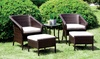 Furniture of America Outdoor Seating Set: Furniture of America Outdoor Seating Set