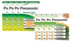 Piles rechargeables Panasonic