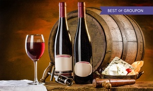 Dionysius Shop: Italian Wine Tasting with Cheese or Vintage Wine Tasting for Two at Dionysius Shop (Up to 71% Off)