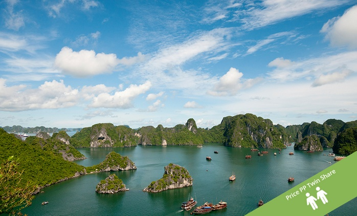 Vietnam: From $1,999 Per Person for a 14-Day Sightseeing Tour with Flights with Asia Vacation Group