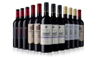 12 Bottle Case of Red Wine from The Sunday Times Wine Club for £49 with Free Delivery (50% Off)