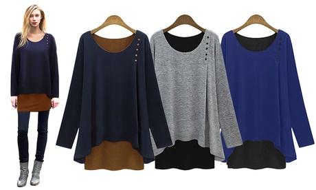 1 o 2 camisas de manga larga, colección Anna