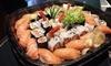 Sushi box d'asporto fino a 80 pezzi