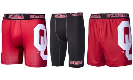 NCAA University of Oklahoma Men's Briefs or Compression Shorts