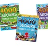 Sticker Book Set (4-Pack)