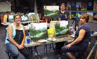 image for BYOB Paint Party for One  Two  or Four at The Cabernet Canvas