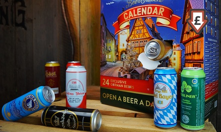 Beer Advent Calendar: 24 Beers in 500ml Cans With Free Delivery