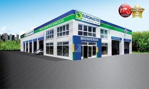 Euromaster: Bon d'achat de 80 € pour votre voiture valable dans plus de 320 centres Euromaster participants ou en ligne pour 40 €