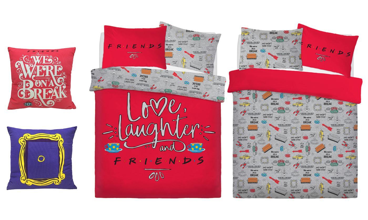 Warner Bros Friends Reversible Duvet Set or Cushions