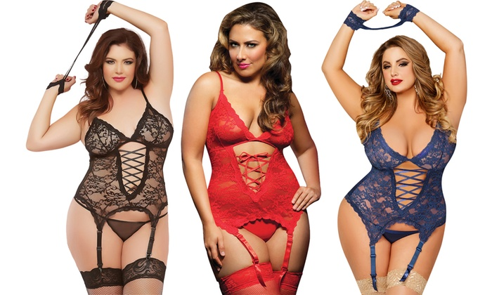 Women s Plus Size Lingerie Sets  1ab302506