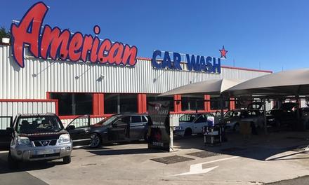 Prestations lavage et pressing au choix, dès 8,50 € au centre de lavage American Car Wash Bellerive