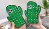 Cactus Push and Pop Fidget Case for iPhone