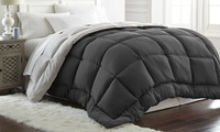 Deals on Hotel 5th Ave All-Seasons Down-Alternative Reversible Comforter Twin