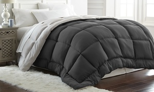 Hotel 5th Ave All-Seasons Down-Alternative Reversible Comforter