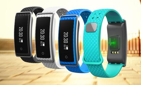 Pulsera deportiva Bluetooth con medidor e indicador de la frecuencia cardíaca