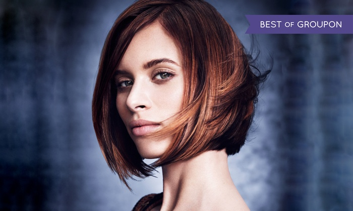 Lux Aveda Salon/Spa - Downtown Fullerton: Salon Services at Lux Aveda Salon/Spa (Up to 56% Off). Two Options Available.