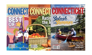 """One- Or Two-year Subscription To """"connecticut Magazine"""" (up To 55% Off)"""