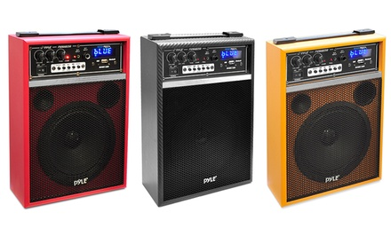 Pyle Audio Boom Rock 300-Watt Bluetooth 6.5