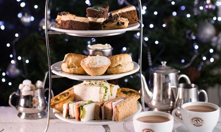 Traditional or Festive Afternoon Tea with Optional Prosecco for Two at Patisserie Valerie, Nationwide (Up to 24% Off)