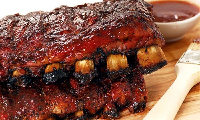 Central Park BBQ - Central Park: One or Two Groupons, Each Good for $10 Worth of Barbecue at Central Park BBQ
