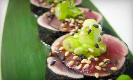 $20 for $40 Worth of Sushi and Japanese Cuisine at District