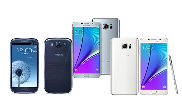 Samsung Galaxy S3, S4, S5, S6, Note 4 o Note 5, ricondizionato da 99 € con spedizione gratuita