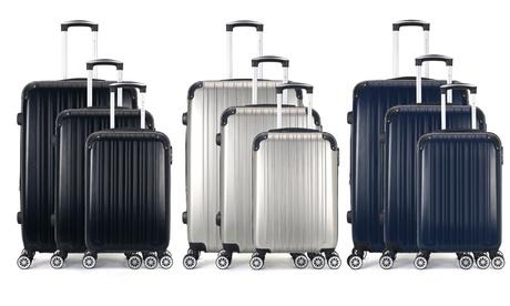 Set de maletas Denali en tamaño cabina, fin de semana o formato grande