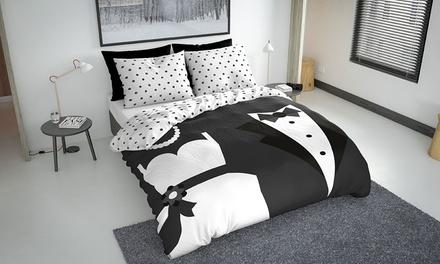 Nightlife Bettwäsche aus Microfaser im Design und in der Farbe nach Wahl