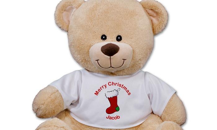 800Bear.com: $12.99 for a Holiday-Themed Personalized Sherman Bear from 800Bear.com ($24.98 Value)