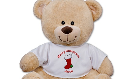 $12.99 for a Holiday-Themed Personalized Sherman Bear from 800Bear.com ($24.98 Value)