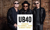 UB40, One General Admission or Platinum Ticket, 19 May - 16 June 2017