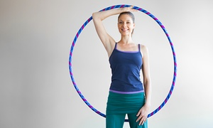 Flow Foundry, ICT: 5 or 10 Hula Hoop Fitness Classes with Hula Hoop at Flow Foundry, ICT (Up to 56% Off)