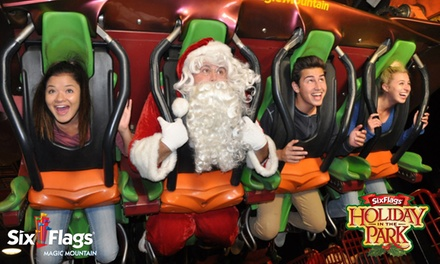 $53.99 for Holiday in the Park Admission for One at Six Flags Magic Mountain ($89.99 Value)