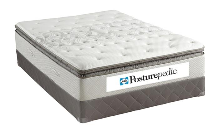 Sealy Pillowtop Mattress Set Groupon Goods