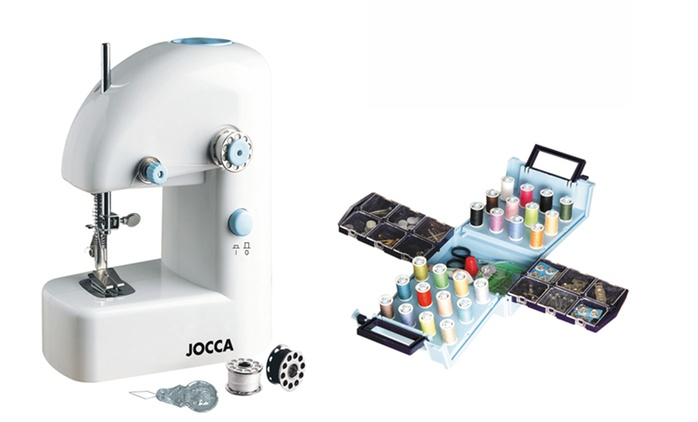 Portable Sewing Machine with Sewing Kit for €19.99 (71% Off)