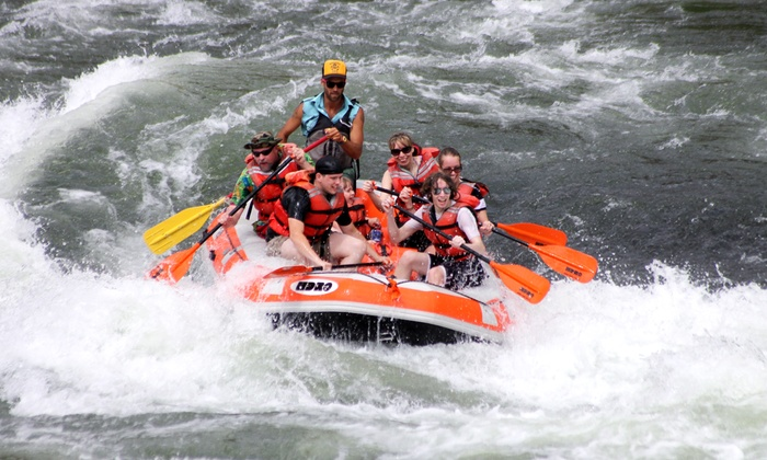 High Desert River Outfitters - Maupin: Half-Day Rafting Trip on the Deschutes River for 2, 4, or 8 from High Desert River Outfitters (Up to 50% Off)