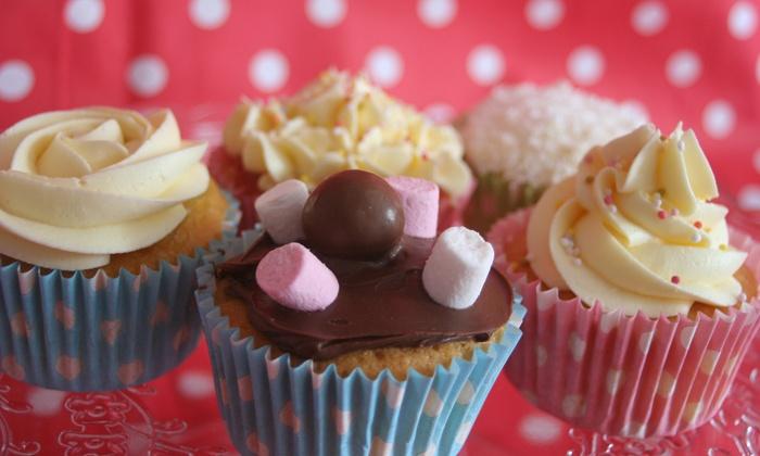 Licks Cake Design - Edinburgh: Box of Six or 12 Cupcakes from Licks Cake Design (Up to 74% Off)