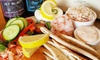 W. Hamond Tea Rooms - Yorkshire: Seafood Platter with Tea, Craft Beer or Bottle of Prosecco for Two at W. Hamond Tea Rooms (Up to 47% Off)