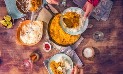 Indian Diner at Minerva Indian Cuisine (Up to 35% Off)