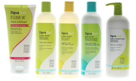 DevaCurl Haircare Products