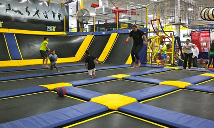 Planet Air Sports - Deerfield Beach: $29 for an Indoor Multi-Attraction Park Adventure at Planet Air Sports ($59.50 Value)