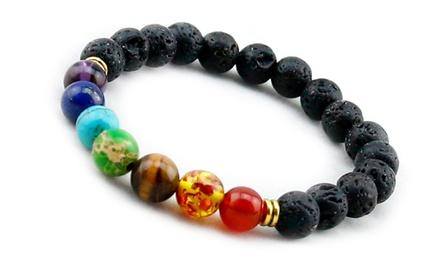 Seven Chakra Healing Reiki Bracelet Including Delivery