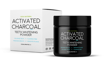 Coal White Activated Charcoal Teeth Whitening Powder