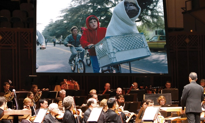 """E.T. THE EXTRA TERRESTRIAL - Times-Union Center for the Performing Arts: """"E.T. The Extra Terrestrial"""" with Live Orchestra Accompaniment on Saturday, April 9, at 7:30 p.m."""