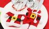 Set portaposate Babbo Natale