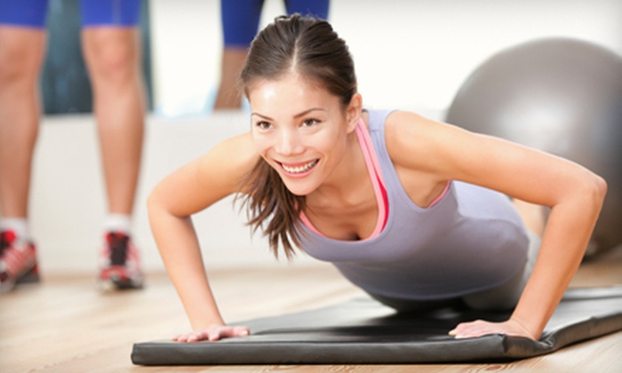 Pure Body Fitness Studio - Cary: Two Personal-Training Sessions with Option for Five Group Fitness Classes at Pure Body Fitness Studio (Up to 81% Off)