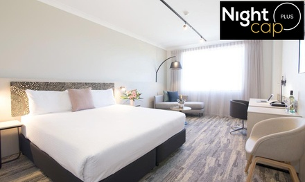 Gold Coast: 1-, 2-, or 3-Night Stay with Late Check-Out & Drinks at Mermaid Waters Hotel by Nightcap Plus