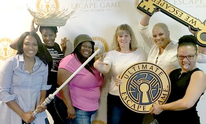 Image Placeholder For Up To 47 Off Escape Room Admission At Ultimate Game