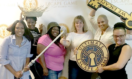 Room-Escape Game at Ultimate Escape Game (Up to 56% Off). Four Options Available.
